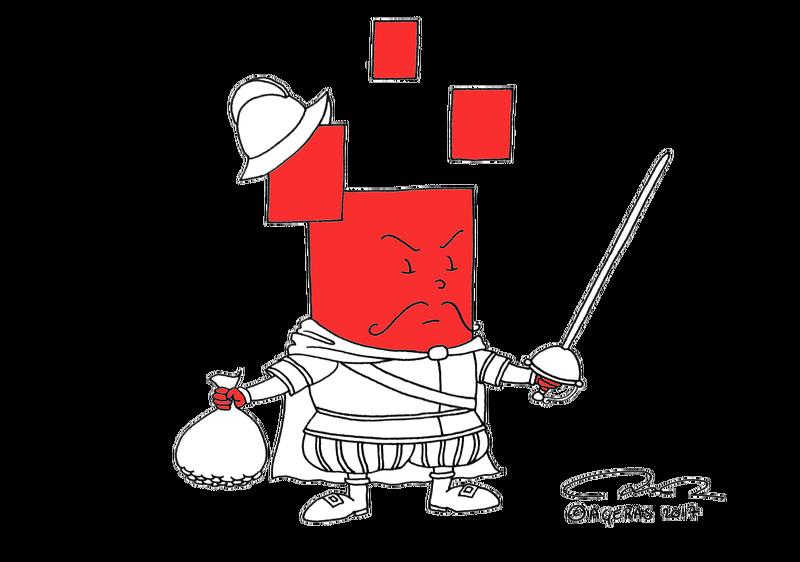 Agerian als Hertog van Alva