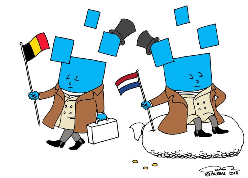 Agerians na de scheiding tussen Nederland en België