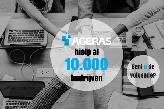 Ageras Nederland hielp al 10.000 bedrijven! Bent u de volgende?