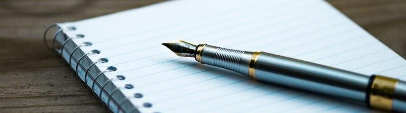 Pen en notaboek