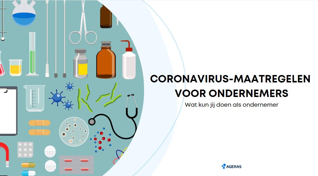Coronavirus: wat je moet weten als ondernemer