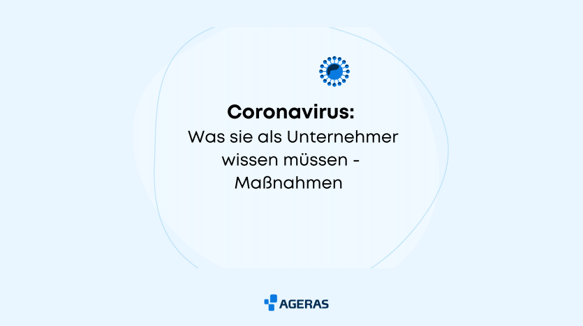 Coronavirus: Maßnahmenpaket für Unternehmer