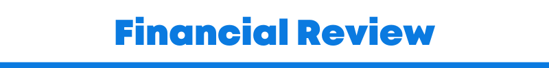 What is a financial review