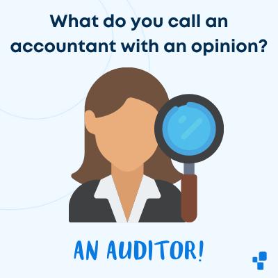 Best funny auditor joke accountant