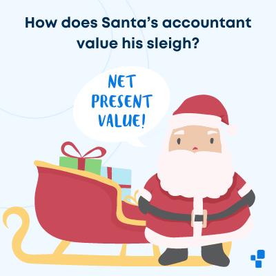 Christmas accounting accountant joke funny