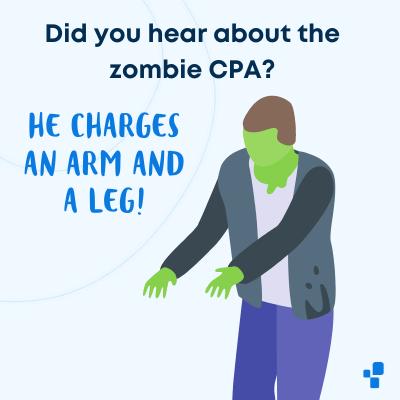 Halloween accounting accountant joke best