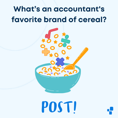 Best accountant accounting joke cereal