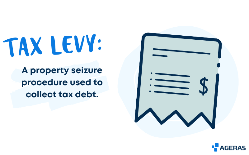 The definition of a tax levy