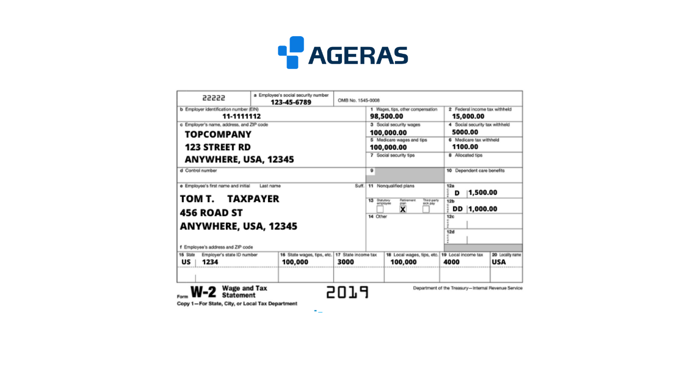 Understanding Form W-2: A Guide To The Wage & Tax Statement